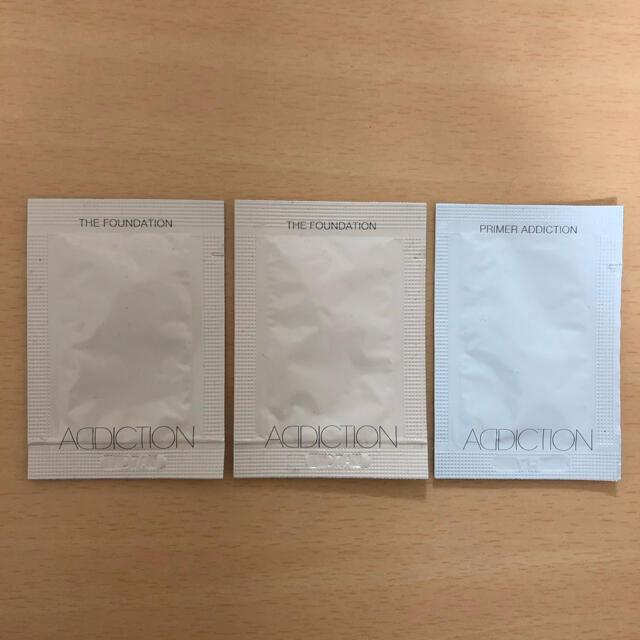 ADDICTION(アディクション)のアディクション サンプル メイクアップベース/ファンデーション コスメ/美容のキット/セット(サンプル/トライアルキット)の商品写真