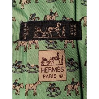 Hermes - 【HERMES】ネクタイ 可愛い馬柄