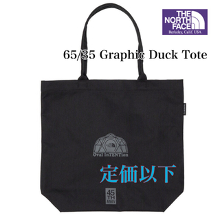 THE NORTH FACE - 新品 ☆パープルレーベル  65/35 Graphic Duck Tote 残①