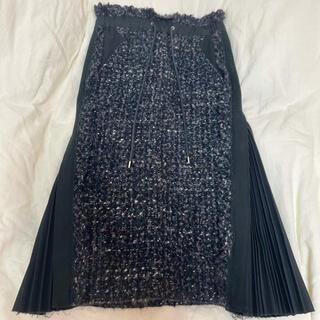 sacai - sacai ツイードスカート
