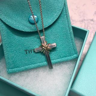 Tiffany & Co. - TIFFANY&Co. / ティファニー クロス シグネチャーネックレス