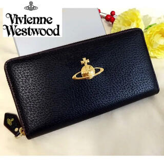 Vivienne Westwood - 【新品】ヴィヴィアン ウエストウッド 長財布 ビッグオーブ/ブラック