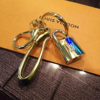 LOUIS VUITTON - ベルトフック キーリング付 Vuitton パドロック 南京錠 ルイヴィトン