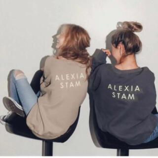 ALEXIA STAM - 美品 アリシアスタン バックロゴ