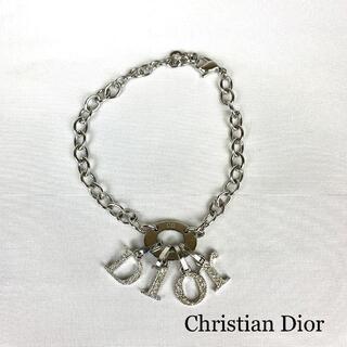 Christian Dior - Christian Dior    DIORロゴ ライトストーン ブレスレット