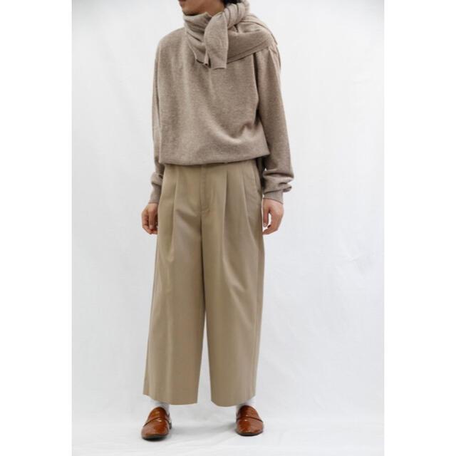 SUNSEA(サンシー)のURU×ARKnets別注 2TUCK WIDE PANTS  メンズのパンツ(チノパン)の商品写真