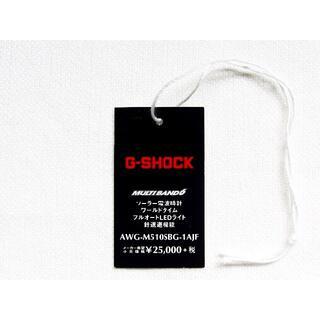 G-SHOCK - 【送料無料】タグ ブラック&ゴールド AWG-M510 カシオ G-SHOCK