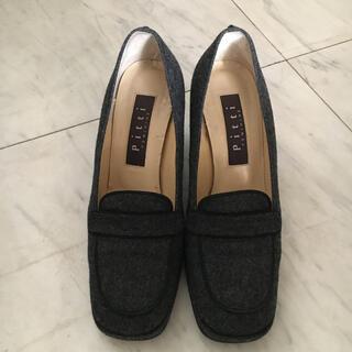ピッティ(Pitti)のPitti ピッティ 靴 パンプス グレー(ハイヒール/パンプス)