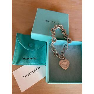 Tiffany & Co. - Tiffany ティファニー ハート タグ チャーム ブレスレット