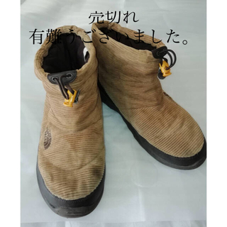 THE NORTH FACE - THE NORTH FACE NUPTSE BOOTIE コーデュロイ