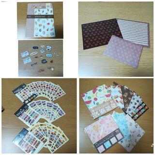 レターセット、シール、デザインペーパー☆(カード/レター/ラッピング)