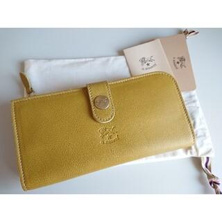イルビゾンテ(IL BISONTE)の新品未使用 イルビゾンテ 長財布 オリーブドラブ(財布)