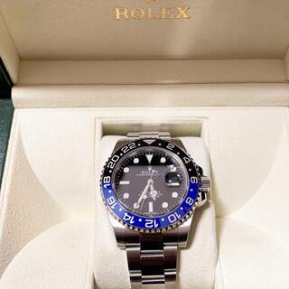 ROLEX - ロレックス GMTマスターⅡ 116710BLNR バットマン