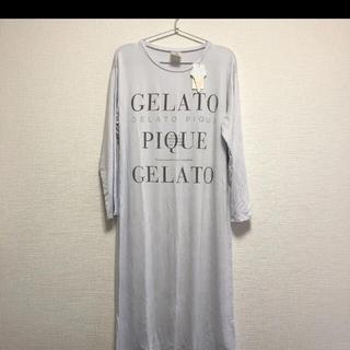 gelato pique - ジェラートピケ 新品未使用 タグ付き ルームウェア ワンピース