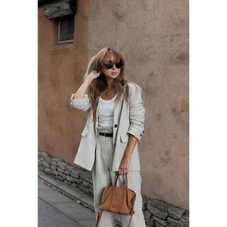 room306 CONTEMPORARY - 【新品】room306 Linen Blend Tailored パンツ スーツ