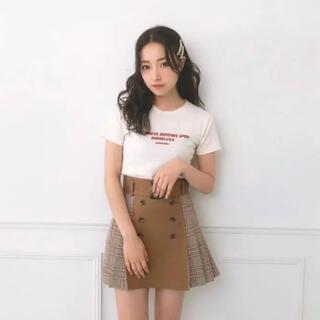 エヌエムビーフォーティーエイト(NMB48)のチェックプリーツスカート(ミニスカート)