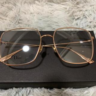 Dior - Dior メガネ ピンクゴールド