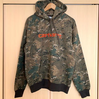 carhartt - M カーハート パーカー carhartt wip 迷彩 カモ camo UK