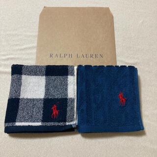Ralph Lauren - ラルフローレン☆タオルハンカチ2枚セット