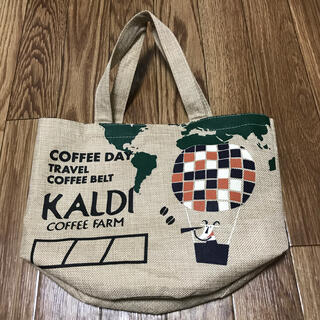 KALDI - KALDI 麻トートバッグ