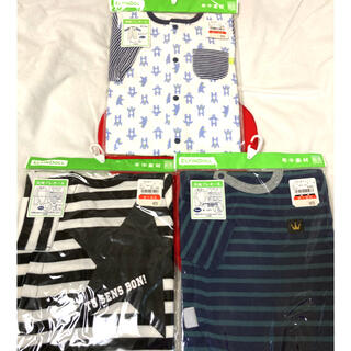 西松屋 - ベビー服👶長袖プレオール3点セット