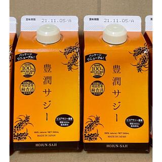 【新品未開封】フィネス 豊潤サジー 300ml 2本 黄酸汁