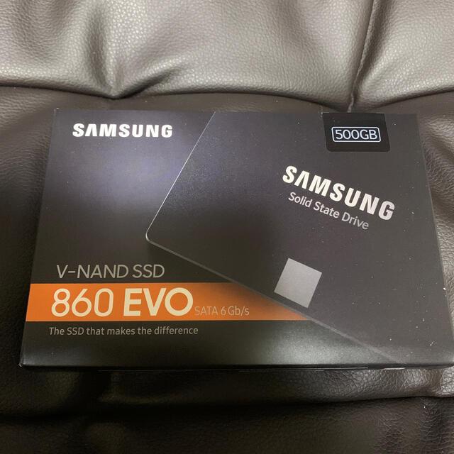 SAMSUNG(サムスン)の新品 Samsung 860 EVO MZ-76E500B/IT  スマホ/家電/カメラのPC/タブレット(PCパーツ)の商品写真