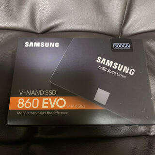 SAMSUNG - 新品 Samsung 860 EVO MZ-76E500B/IT