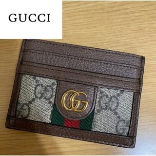 Gucci - GUCCIカードケース