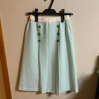 ✴︎ボーダースカート(ひざ丈スカート)