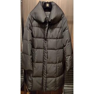 エムプルミエ(M-premier)のエムプルミエ ブラックダウンコート 38サイズ(ダウンコート)