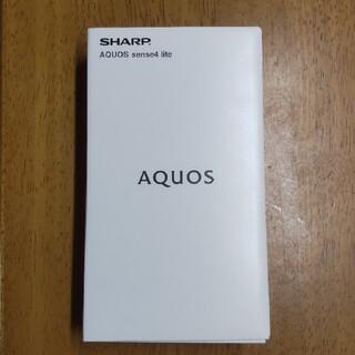 AQUOS - AQUOS sense4 lite シルバー SH-RM15