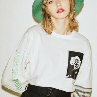ジュエティ(jouetie)のjouetie スイッチスリーブロンT(Tシャツ(長袖/七分))