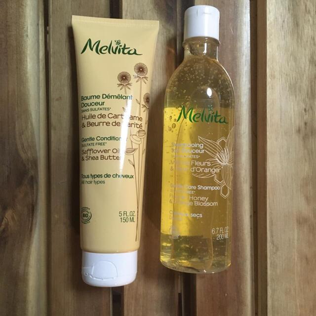 Melvita(メルヴィータ)のメルヴィータ エッセンスビオジェントルシャンプー&コンディショナー コスメ/美容のヘアケア/スタイリング(シャンプー/コンディショナーセット)の商品写真