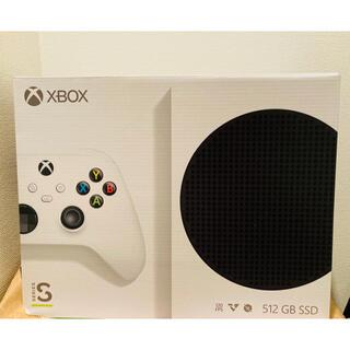エックスボックス(Xbox)の【新品未開封!】Microsoft Xbox Series S 本体(家庭用ゲーム機本体)