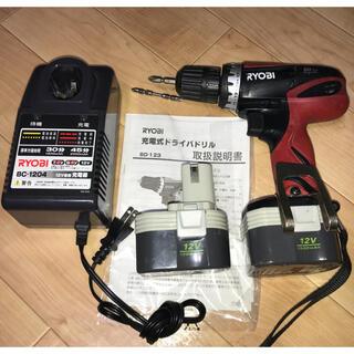 リョービ(RYOBI)のRYOBI 電動ドライバー コードレス 充電式 リョービ オマケ付き(工具)
