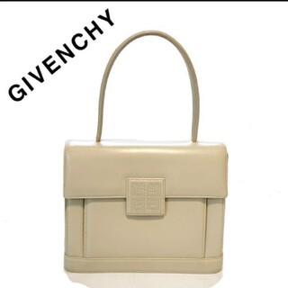 ジバンシィ(GIVENCHY)のGIVENCY ジバンシー ハンドバッグ レザー 本革 ホワイト 白 レディース(ハンドバッグ)