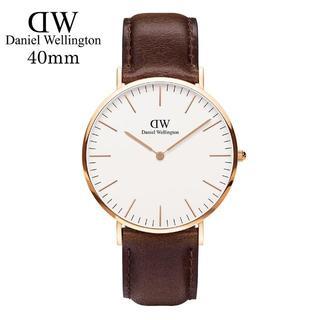 ダニエルウェリントン(Daniel Wellington)のDanielWellingtonダニエル ウェリントン腕時計0109DW40mm(腕時計(アナログ))
