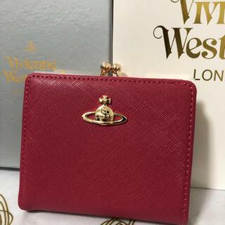 Vivienne Westwood - 新品ヴィヴィアン 財布 がま口 二つ折り Vivienne レッド