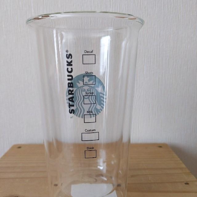 Starbucks Coffee(スターバックスコーヒー)のスターバックス ロゴダブルウォールグラス 380ml インテリア/住まい/日用品のキッチン/食器(グラス/カップ)の商品写真