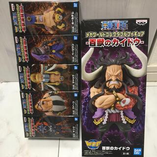 BANPRESTO - ワンピース ワールドコレクタブル フィギュア 百獣海賊団 6種セット ワーコレ