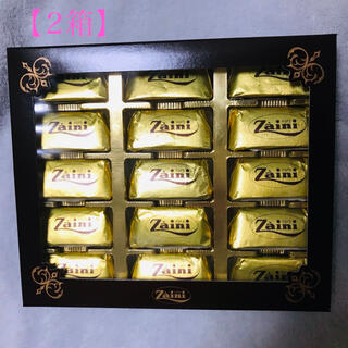 ザイーニ ジャンディオッティ チョコレート ナッツ イタリア 老舗 2箱(菓子/デザート)