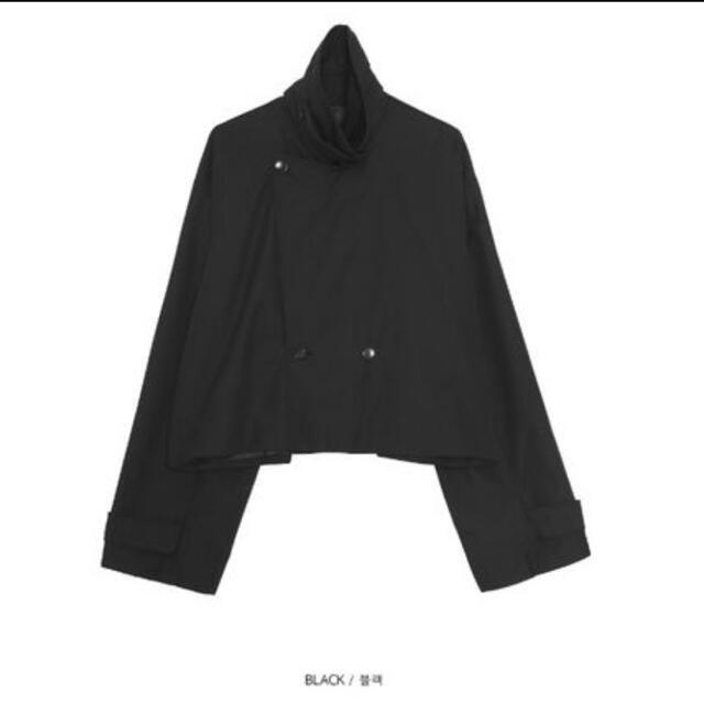 Balenciaga(バレンシアガ)のOPEN THE DOOR コーチジャケット 黒 メンズのジャケット/アウター(テーラードジャケット)の商品写真