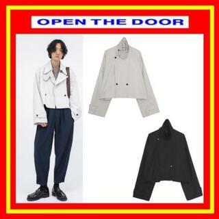 Balenciaga - OPEN THE DOOR コーチジャケット 黒