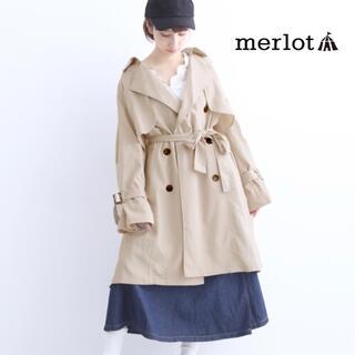 メルロー(merlot)の【melrot】トレンチコート 693-0527 F(トレンチコート)