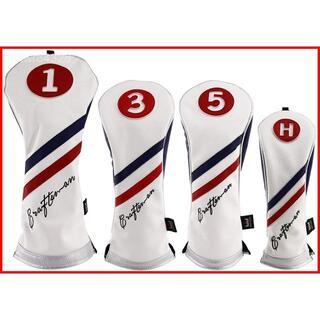 CRAFTSMAN(クラフトマン)ゴルフ ヘッドカバー 番号タグ付き 4個セット(その他)