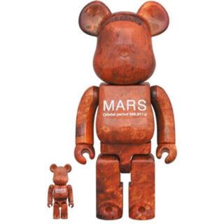 メディコムトイ(MEDICOM TOY)の新品 MARS BE@RBRICK 100% & 400% ベアブリック  (その他)