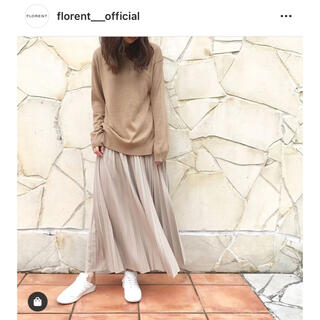 フローレント(FLORENT)の【FLORENT】PLEATED JERSEY LONG SKIRT(ロングスカート)