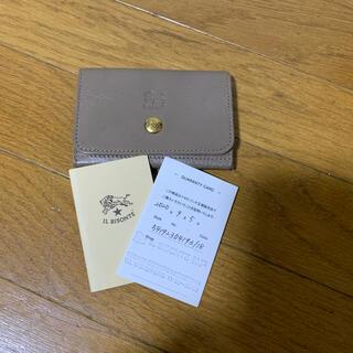イルビゾンテ(IL BISONTE)のイルビゾンテ カードケース(名刺入れ/定期入れ)