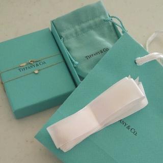 Tiffany & Co. - ティファニーバイザヤードダイアモンドネックレスダイヤモンドペンダント0.14ct